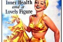 Health Fitness and Beauty - Vintage Adverts / Old adverts plus modern treatments
