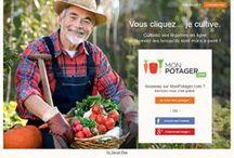 Le concept Monpotager.com en images... / Monpotager.com permet de cultiver un potager en ligne, de voir ses légumes pousser chez des producteurs locaux et de se les faire livrer tout au long de l'année lorsqu'ils sont mûrs à point ! Abonnez-vous ou offrez un carré potager à vos proches. Le meilleur des circuits courts à partir de 49€…