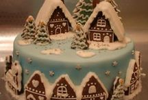 Christmas / winter cake