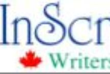 Inscribe Writers Online / ICWF members can be found in every province in Canada. Our writers range from beginning to experienced writers, with about 85% published. Some write full-time, some part-time. Genres include fiction, nonfiction, poetry, and most sub-genres, including mysteries, romance and journalism, and instructional writing.  Read our posts and get to know Canadian authors.  http://www.inscribe.org/  and http://inscribewritersonline.blogspot.com/