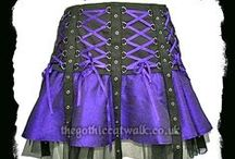 Gothic Skirts / Beautiful long and short gothic skirts