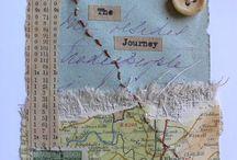 Bonnies board / Textiles art