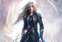 Throne of Glass / The Throne of Glass series by Sarah J. Maas is one of my absolute favorite series ever. Recommended to all fantasy fans!