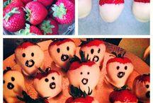 Halloween Food Ideas / Fun Halloween themed food inspirations