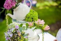 Floral Inspired Tea Party Ideas