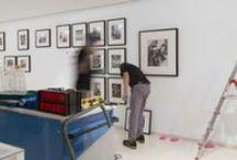 Montaje exposición 'Caso de estudio. Grete Stern'