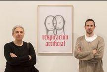 Performance. Respiración Artificial. Eco Oscuro / Proyecto de Dora García y Peio Aguirre para el IVAM
