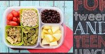 Lunch ideas! / Snack and Lunches for School