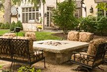 FIRE / Outdoor Fire Features - fireplaces, fire tables, fire pits