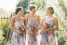Bridesmaids / by Rustic Wedding
