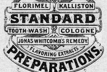 Vintage Type / Vintage typography