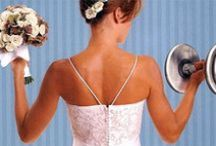 Buff Brides / Getting fit and healthy will ensure you look your best on your wedding day
