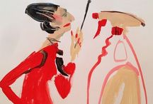 Diana Vreeland ~ 'Empress of Style' / .Not just the Empress, but the Huntress as well  / by cynthia neal