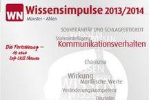Münster - WN Wissensimpulse / ROHSTOFF WISSEN® wertvolle Wissensimpulse mitnehmen, Erfolge sichern, Wissen vertiefen.