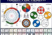 Touch for Health / muscle testing, Chinese five element theory, meridian flow, chi, food testing, pain release, stress relief