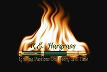 R.E. Hargrave's Books on Amazon / Pinned straight from Amazon so links are available. :D