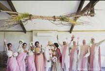 Gorgeous Bridesmaids / Inspiration for modern Indian bridesmaids