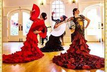 vestidos flamenco..!