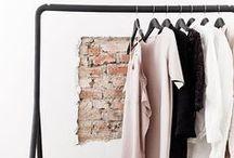 C L O S E T - clothing/racks