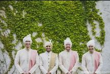 Handsome Groomsmen / Inspiration for modern Indian groomsmen