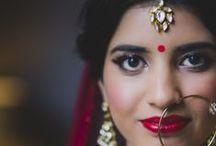 Hair & Makeup / Bridal Hair & Make Up inspiration for Indian Brides