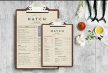Menu Design / Menus are a part of every restaurant experience. They also give off first impressions and tie in your brand to the experience. A great menu design is essential.