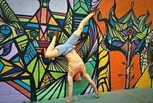 Handstands / Dedicated to handstand progressions beginner to... ridiculous. Please post any exercises you have found that helped!