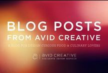 Blog Posts from Avid Creative / These are blog posts on the Avid Creative Website: www.acgd.ca/blog