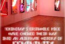 Glances / Contemporary Art Exhibition reviews by Drenched Co