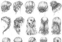 Hair styles / (all around)