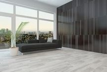 Gray Hardwood Floors / Explore all of the hardwood flooring options in today's hottest color - GRAY!
