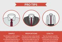 Men's Suit Style Tips - The Infographic Style Playbook / Please pin your favorite menswear tips and tricks! These infographics should help answer your suit styling questions at a quick and easy glance. From how to tie a tie to which type of shoes to pair with your suit, let's gather the best life saver tips.