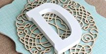 DIY Letras✂ / Decoracion de letras #diy