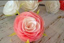 DIY Flores de Papel✂ / Tutoriales para hacer toda clase de flores de papel #diy flowers