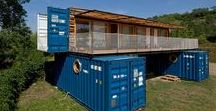 Shipping Container Homes / Inspiration to help build shipping container homes and structures in Nicaragua