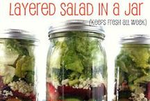 In a Jar Ideas! / Food and gifts in a jar! / by Simply Sherryl