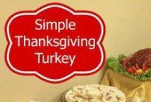 Holiday - Thanksgiving / Who doesn't love Thanksgiving? Share your crafts, planning and menu ideas. / by Simply Sherryl