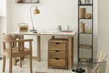 Urban Industrial Chic ♚ / Interiors and decor with an industrial or retro twist