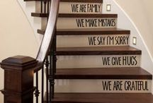 Hallways & Staircases ♚ / Make an entrance with amazing hallways, storage solutions, front doors and staircases