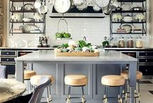 Kitchen & Dining Rooms♚ / Beautiful kitchen and dining room inspiration for your home.