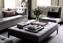 Living Spaces♚ / Gorgeous living room designs, lounge spaces and inspirational colour schemes.