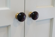 Lots of Cupboard and Drawer Knobs / If you want to give a room or piece of furniture a lift. Consider changing the drawer or cupboard knobs. We have a great selection, brass, porcelain, glass, nickel, chrome, iron and pewter. Hope you get some ideas here. / by Priors Period Ironmongery
