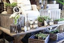 Craft Stall & Boutique Displays♚ / Fabulous craft stall and boutique display ideas