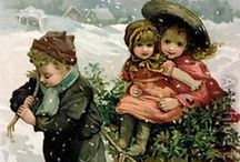 An Old Fashioned Christmas / Beautiful images of Christmases long ago. / by Linda Levans