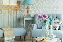 Interior Trends 2014 ♕ / What's hot in the world of interiors for 2014? Dark moody blues, radiant orchid, pretty pastels, monochrome, metallics and geometric delights ...