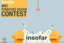 ° formabilio COMPETITIONS ° / We monthly launch an INTERNATIONAL CONTEST about furniture design.  Imaginative fellows from all around the world can apply and get the chance to become the next Formabilio's Designer!