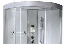 950mm - 1350mm Corner Steam Showers / 950mm - 1350mm Corner Steam Showers by Smart Price Warehouse