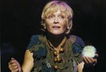 Our beloved Spokesperson Cathy Rigby is Peter Pan! / http://www.discoveryarts.org/cathy-rigby.html / by Discovery Arts