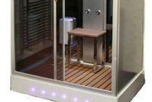 Rectangle Steam & Hydro Showers / Rectangular shaped steam showers and hydro shower cabins.