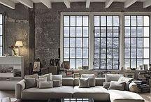 Loft Living ♕ / Dreamy open plan spaces for modern living